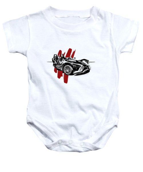 Polaris Slingshot Graphic Baby Onesie