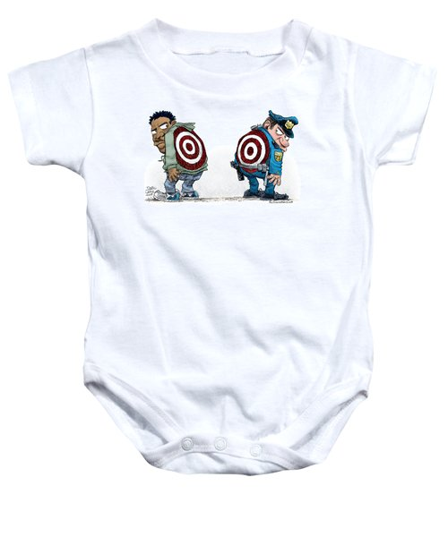 Police And Black Folks Are Targets Baby Onesie