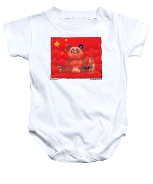 Pollution In China Baby Onesie