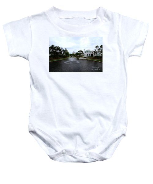 Pond At Alys Beach Baby Onesie