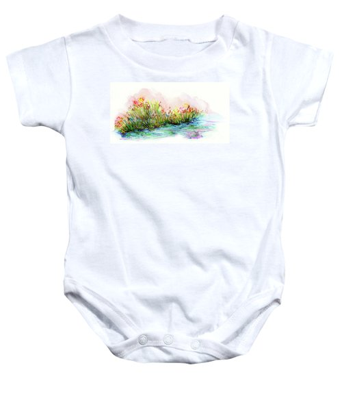 Sunrise Pond Baby Onesie