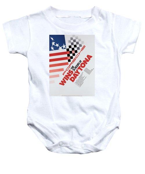 Porsche 24 Hours Of Daytona Wins Baby Onesie