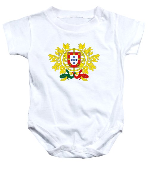 Portugal Coat Of Arms Baby Onesie