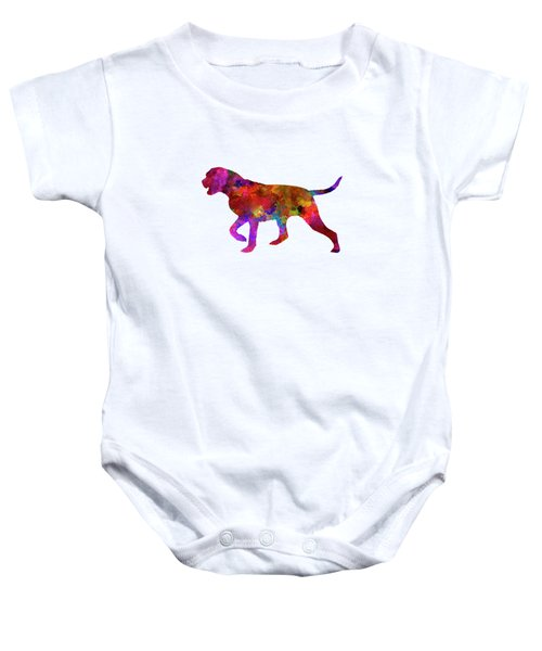 Portuguese Pointer In Watercolor Baby Onesie