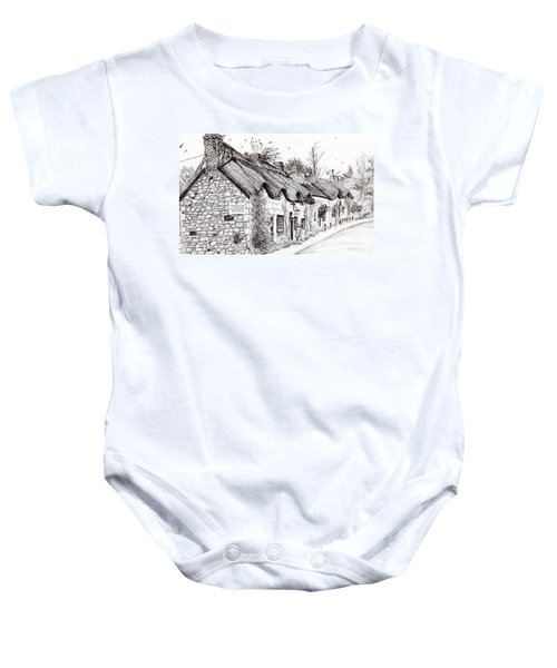 Post Office And Museum Baby Onesie