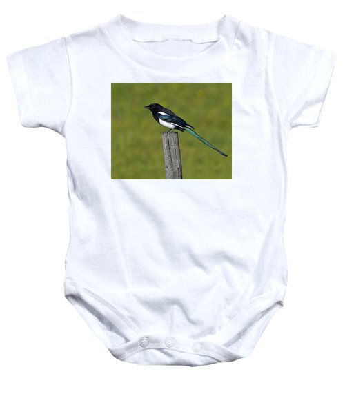 Prairie Perch Baby Onesie by Tony Beck