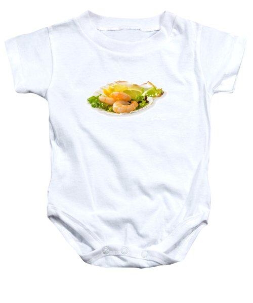Prawn Salad With Lemon Baby Onesie