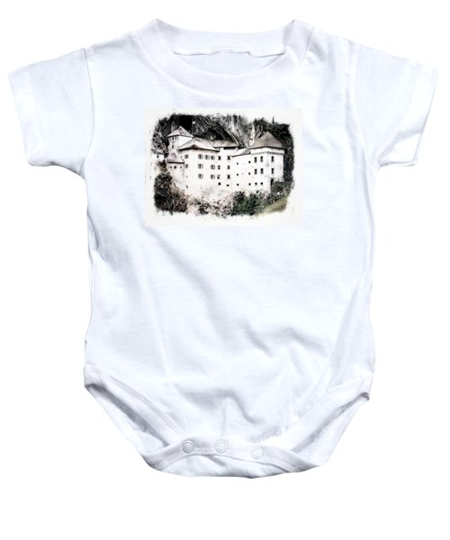 Predjama Castle Baby Onesie