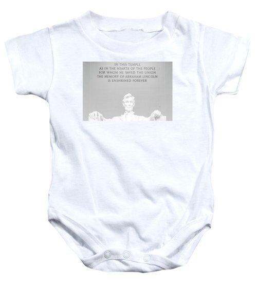 President Lincoln Baby Onesie