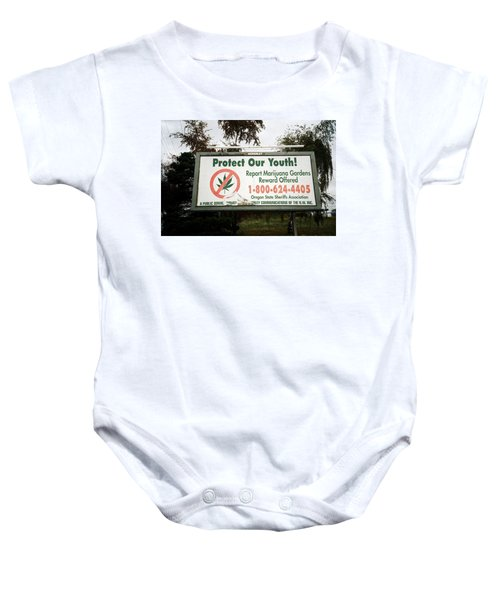 Protect Our Youth Baby Onesie