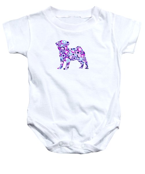 Pug - Animal Art Baby Onesie