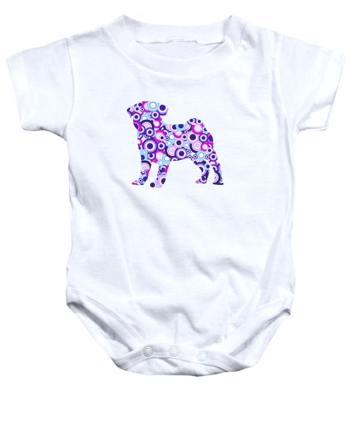 Pug - Animal Art Baby Onesie
