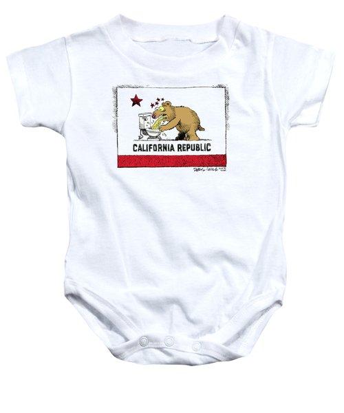 Puke Politics Baby Onesie