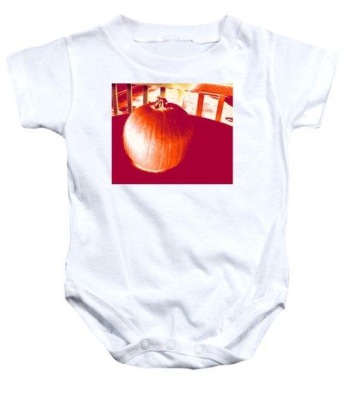Pumpkin #1 Baby Onesie