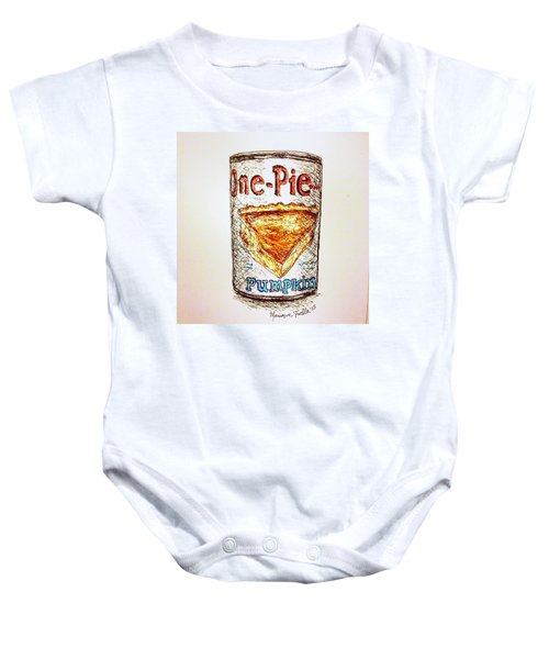 Pumpkin Pie Can Baby Onesie