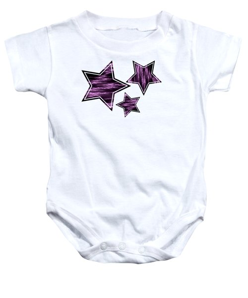 Purple Lightening Baby Onesie