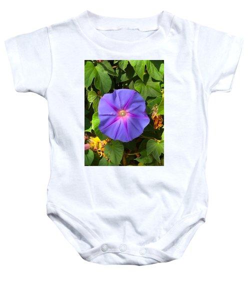 Purple Star Baby Onesie