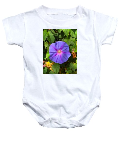 Purple Star Baby Onesie