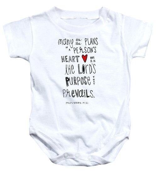 Purpose Baby Onesie
