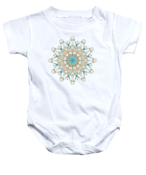 Pussy Willow Pattern Baby Onesie
