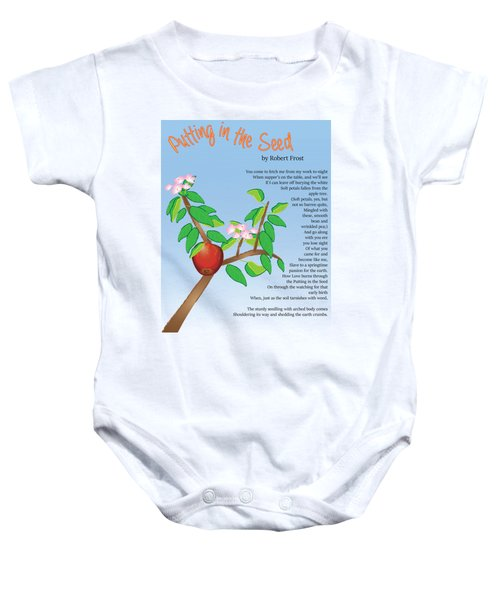 Putting In The Seed Baby Onesie