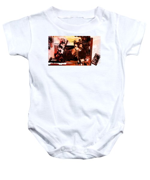 Puzzle Guide Baby Onesie