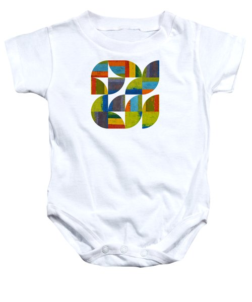 Quarter Rounds 4.0 Baby Onesie by Michelle Calkins