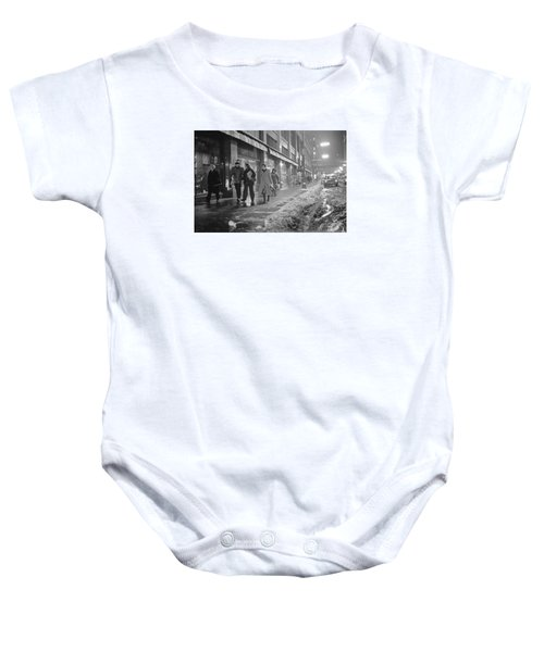 Quitting Time For Daytons Staff Baby Onesie