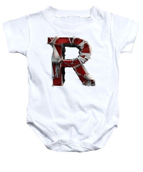 R Is Rock N Roll Baby Onesie