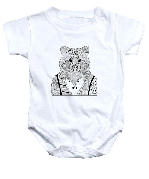 Raccoon Baby Onesie by Serkes Panda