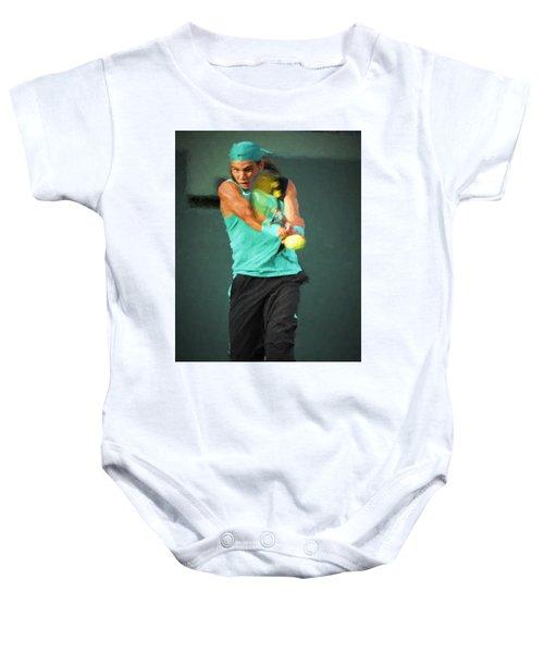 Rafael Nadal Baby Onesie