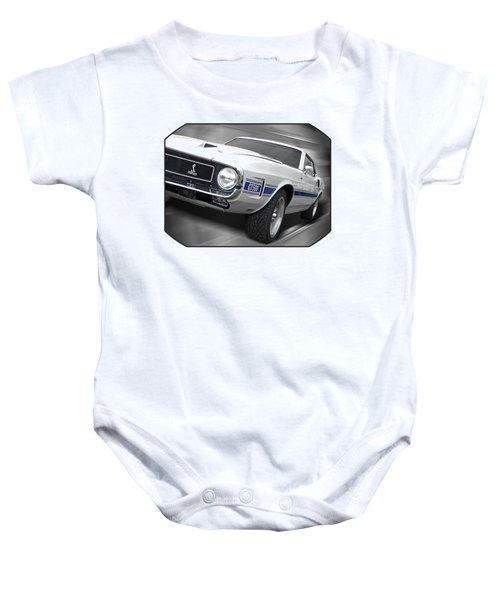Rain Won't Spoil My Fun - 1969 Shelby Gt500 Mustang Baby Onesie