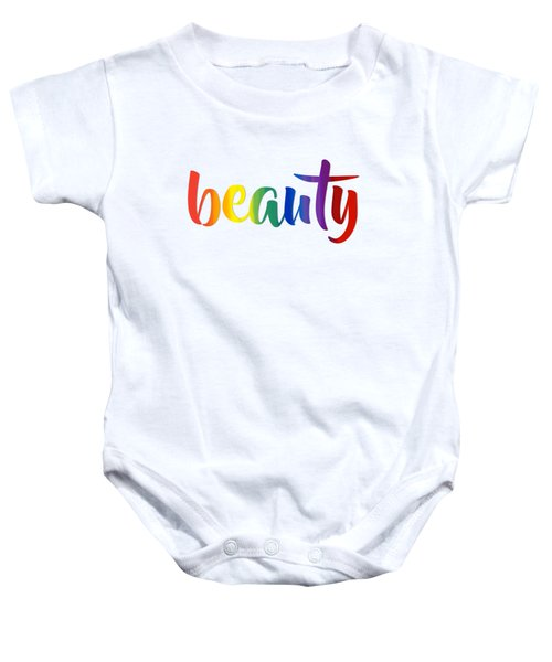 Rainbow Beauty Baby Onesie