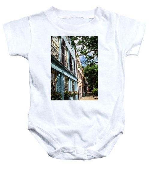 Rainbow Street Baby Onesie