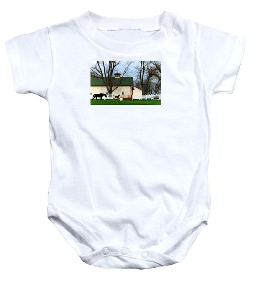 Ramsey Farm Baby Onesie