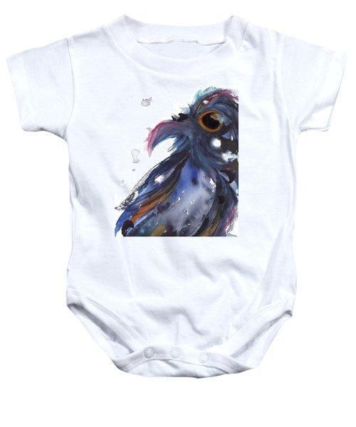 Raven 1 Baby Onesie