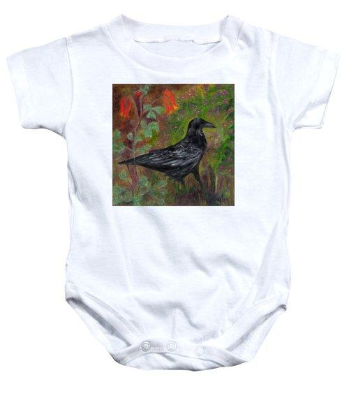 Raven In Columbine Baby Onesie