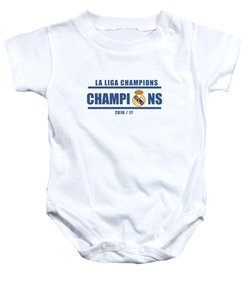 Real Madrid La Liga Champions  Baby Onesie
