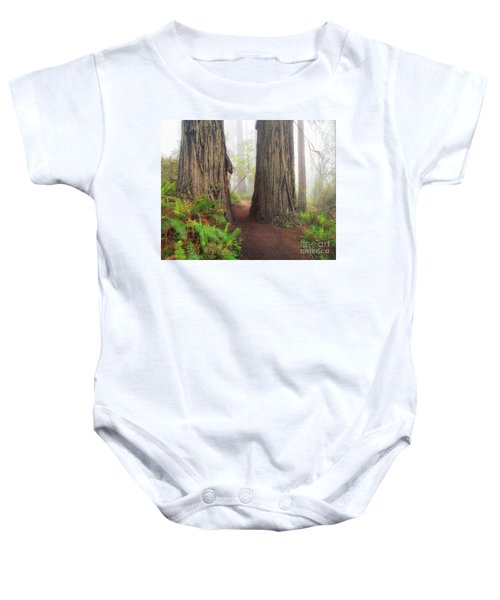 Redwood Trail Baby Onesie