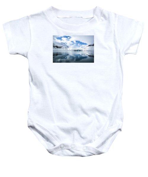 Reid Glacier Glacier Bay National Park Baby Onesie
