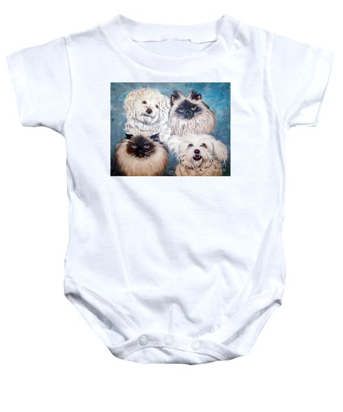Reigning Cats N Dogs Baby Onesie