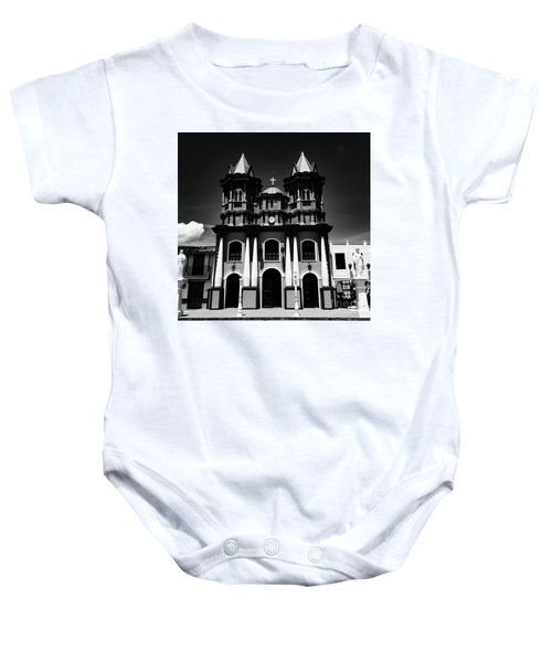Replica Church In El Penol Baby Onesie
