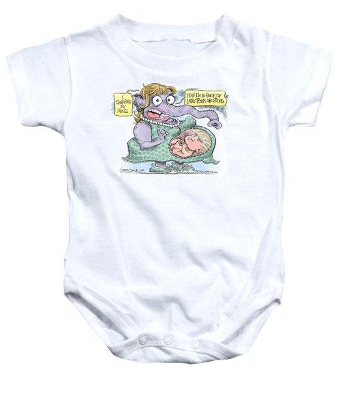 Republican Trump Abortion Baby Onesie