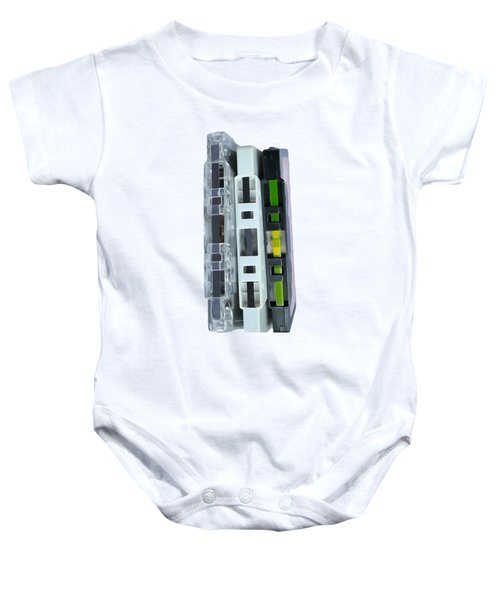 Retro Music Cassette Tapes Tee Baby Onesie