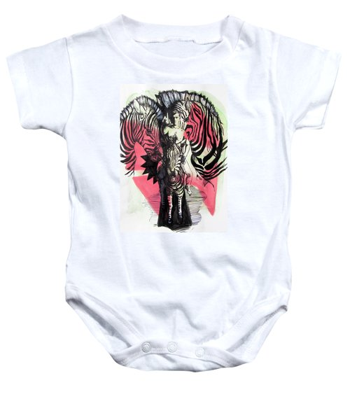 Return Of Zebra Boy Baby Onesie