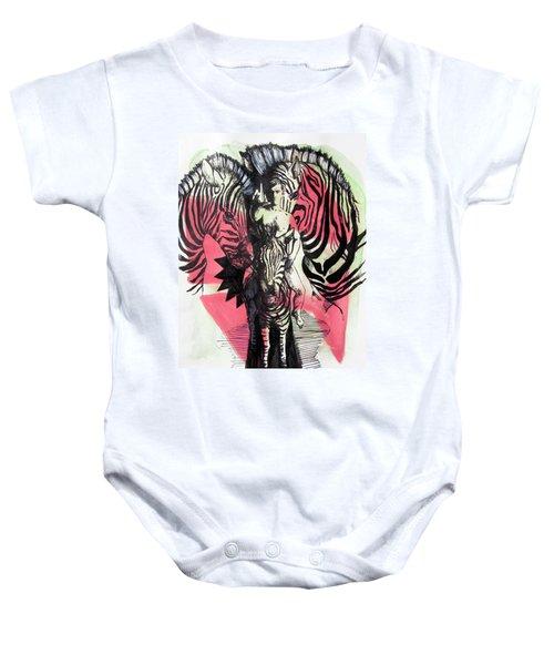Return Of Zebra Boy Baby Onesie