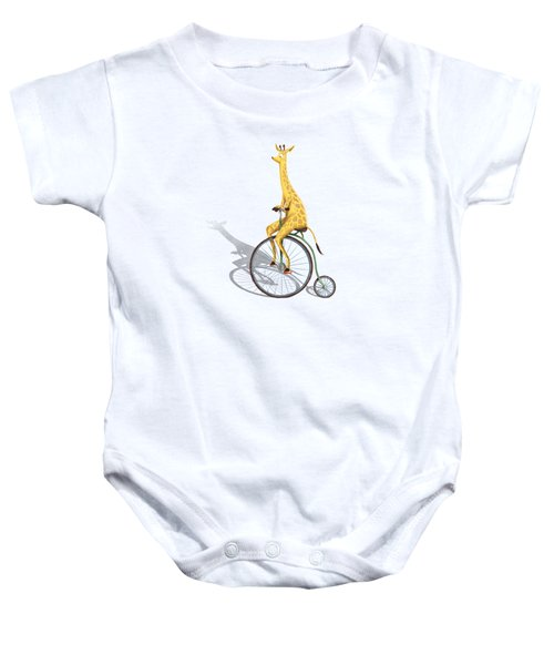 Ride My Bike Baby Onesie