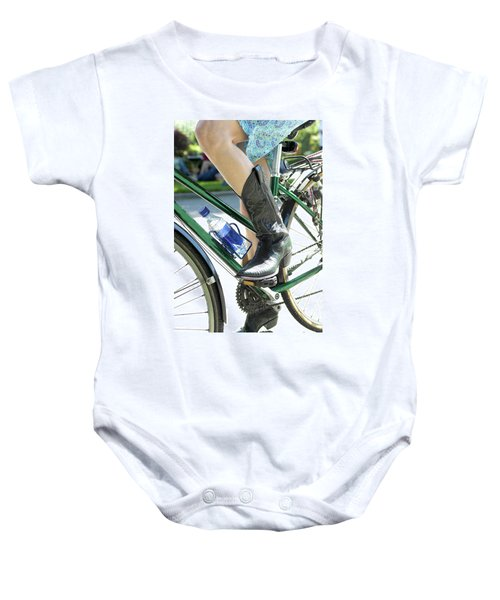 Riding In Style Baby Onesie