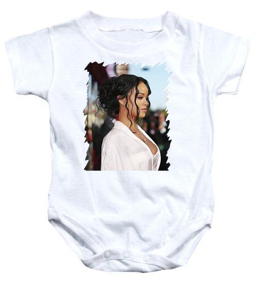 Rihanna Baby Onesie by Twinkle Mehta