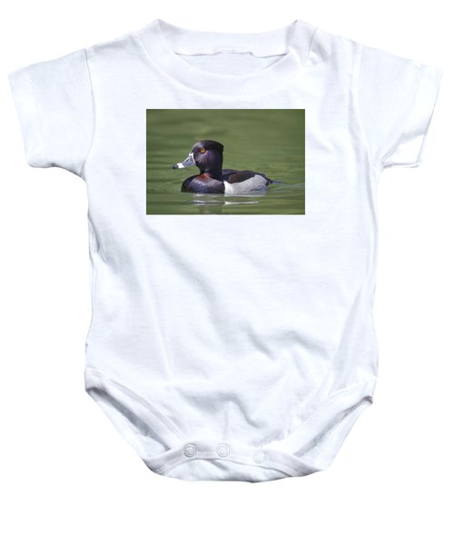 Ring-necked Duck Profile Baby Onesie